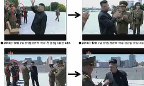 Kim's uncle edited out of images