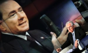 Berlusconi has performed an astonishing comeback, exacting his political revenge while Monti is struggling badly to make a breakthrough in the campaign for the February elections.