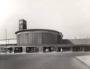 tube: Chiswick park station opened in April 1932