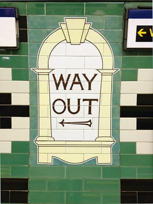 tube: Way out