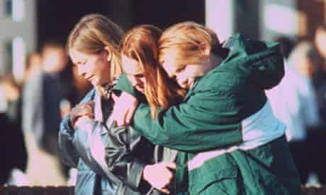 High school students mourn dead after shooting