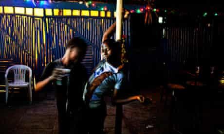 Gay bar in Kampala
