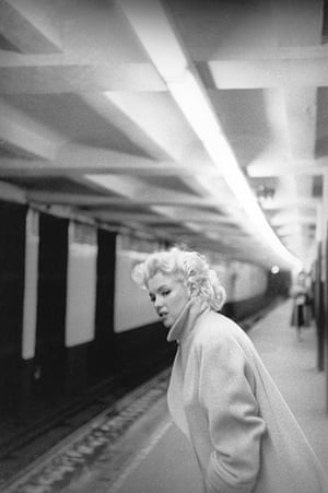 Grand Central 100 years: Marilyn Monroe takes the train