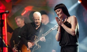 Bronagh Gallagher performs at the Glassworks