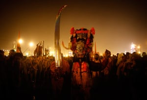 Maha Kumbh : Many different Hindu sects come together to take the ritual bath at Sangam
