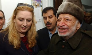 Suha and Yasser Arafat