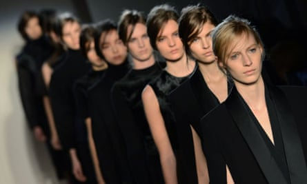 Models designs at the Victoria Beckham s