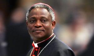 Cardinal Peter Turkson of Ghana in 2005.