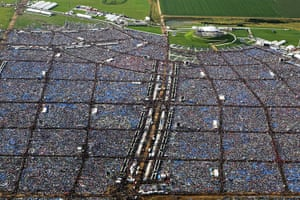 pope benedict resigns: pope's prayer vigil for World Youth Day