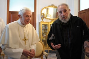 pope benedict resigns: pope benedict xvi makes first visit to cuba