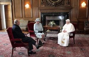 pope benedict resigns: Papal visit to UK