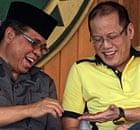 Murad Ebrahim and Benigno Aquino 11/2/12