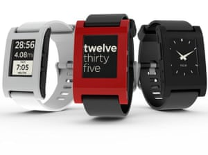 Apple iWatch: Pebble Watch