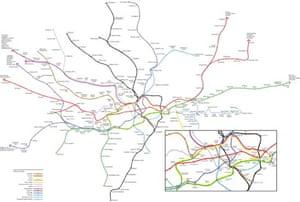 real tube map