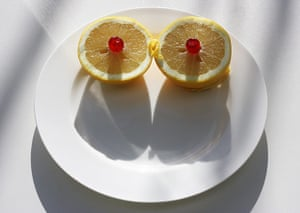 Your Pictures - Glamour: two grapefruit halves with red cherries on top