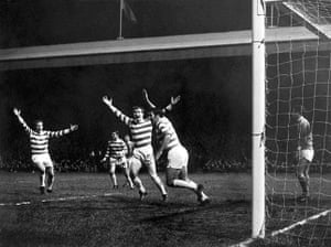 Celtic pictures: Soccer - European Cup - Second Round First Leg - Celtic v Benfica