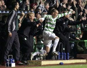Celtic pictures: Celtic v Manchester United