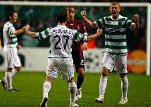 Celtic pictures: Celtic v AC Milan - UEFA Champions League