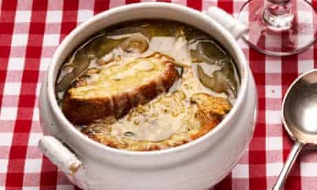 Balthazar onion soup gratinée,