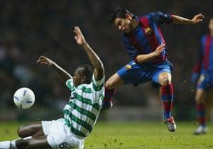 Celtic pictures3: Celtic v Barcelona