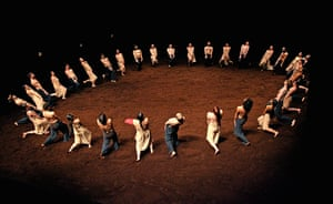 Rite of Spring: Pina Bausch's Tanztheatre Wuppertal production at  Sadler's Wells in 2008