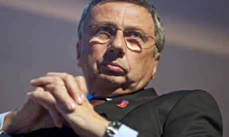 Finmeccanica boss Giuseppe Orsi