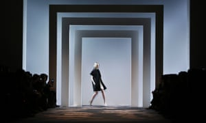 Fashion from the Fall 2013 Vera Wang collection is modeled in New York.