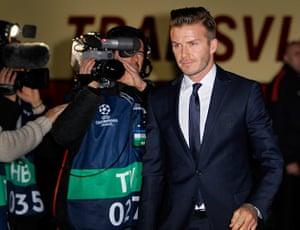 Tuesday Champions League: David Beckham