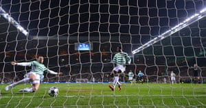 Tuesday Champions League2: Kelvin Wilson slides in to clear the ball off the line