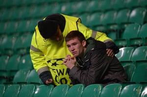 Tuesday Champions League3: Dejected Celtic fan