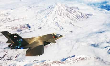 Iranian fighter jet