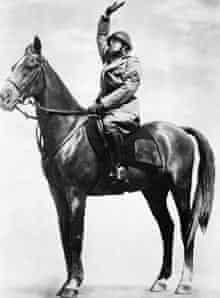 Mussolini on Horseback, ca. 1940