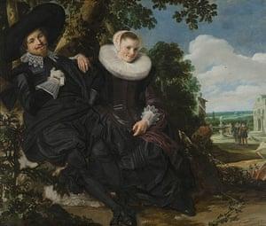 Love artworks: Wedding portrait of Abrahamsz Massa and Beatrix van der Laen