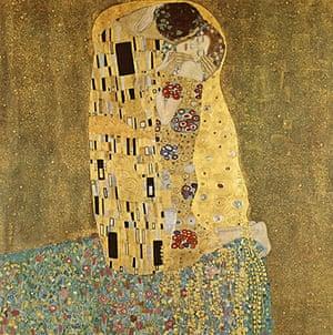 Love artworks: The Kiss (1907-08) by Gustav Klimt