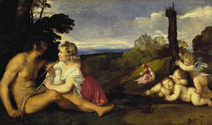 Love artworks: The Three Ages of Man (c1512-14) by Titian