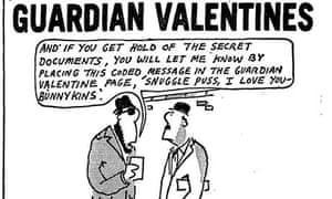 Guardian Valentine service ad 1981
