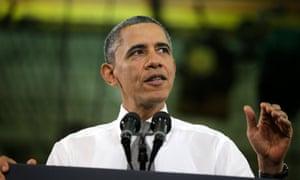 Barack Obama in NC