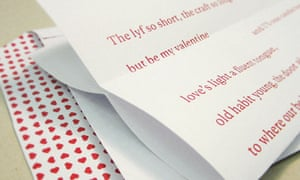 Love poems: writers choose their favourites for Valentine's