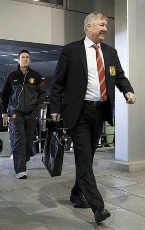 Real v United: Sir Alex Ferguson