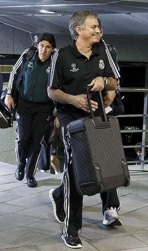 Real v United: Jose Mourinho