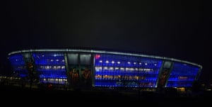 Real v United: Donbass Arena
