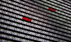Computer virus cybergang ransomware