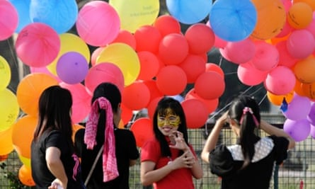 Women participate in an event to support the One Billion Rising global campaign in Kolkata, India, on 14 February 2013.