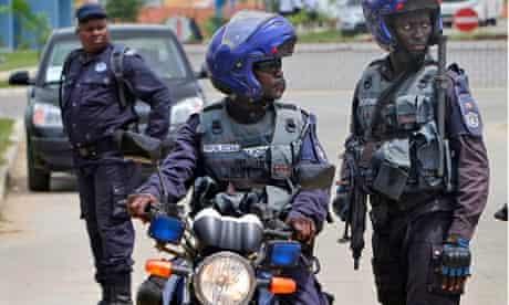 Angolan police