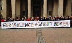 A One Billion Rising event in Birmingham.