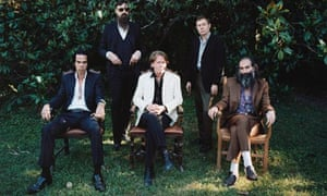 Nick Cave with the Bad Seeds.