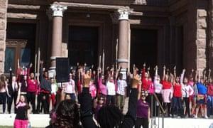 One Billion Rising campaign in Austin