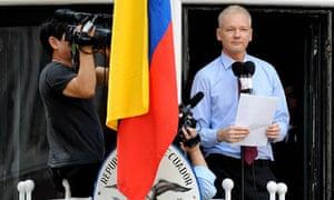 Julian Assange ecuadorean embassy