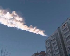 meteorites in Russia: Chelyabinsk