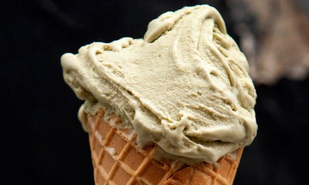Israeli prime minister Binyamin Netanyahu apparently prefers pistachio and vanilla ice-creams